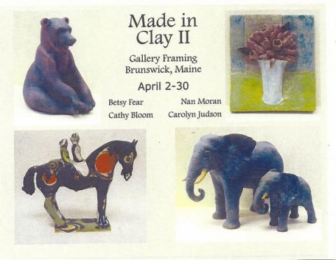Carolyn Judson and students featured in show at Gallery Framing ...
